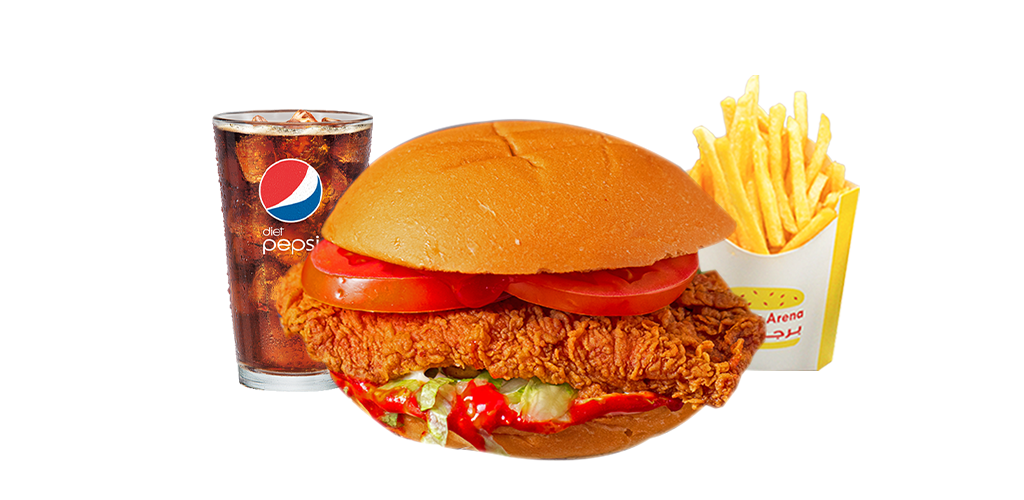 Zinger Chicken Meal