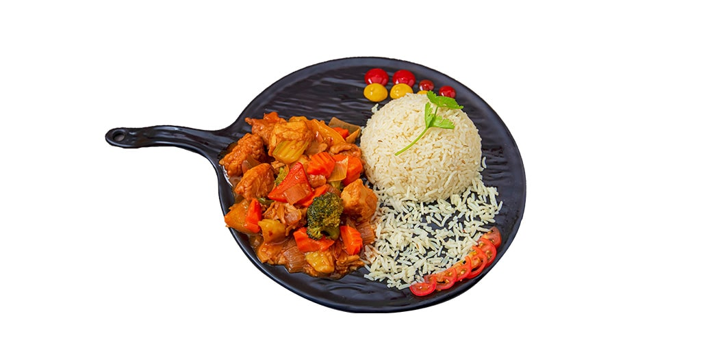 Chicken Sizzling Plate