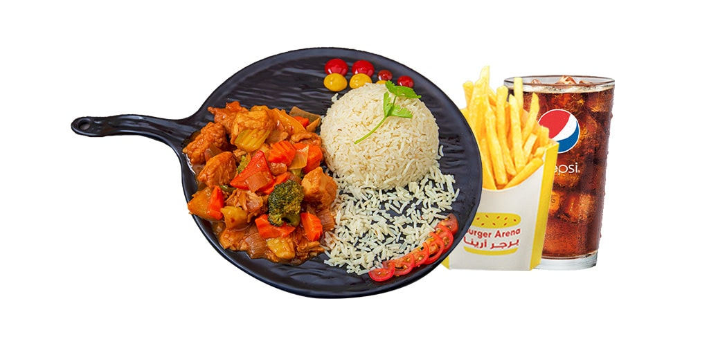 Chicken Sizzling Meal