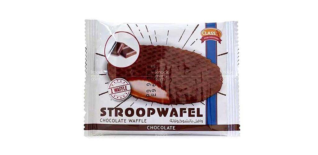 Stroop Chocolate Wafel