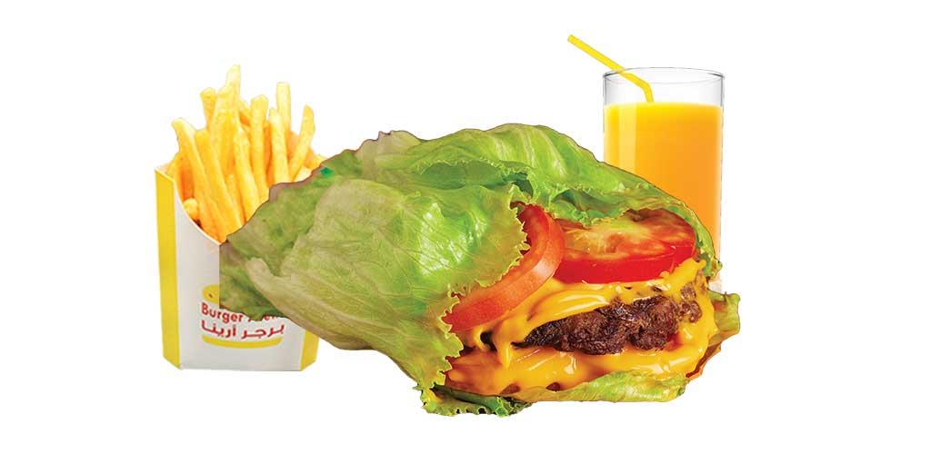 Fit Burger Meal