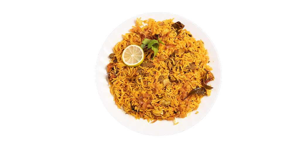 Indian Biryani Spicy Meat