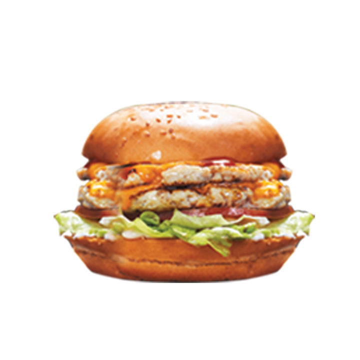 Mighty Chicken Burger Sandwich